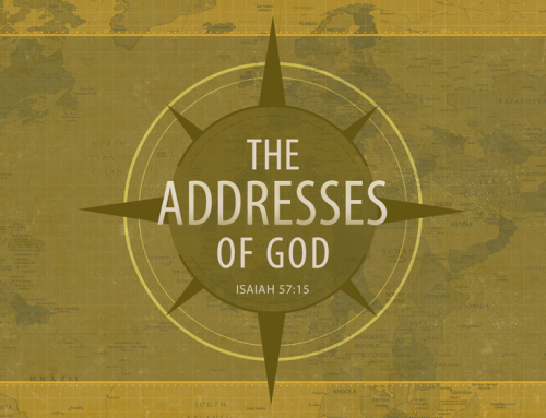 THE ADDRESSES OF GOD